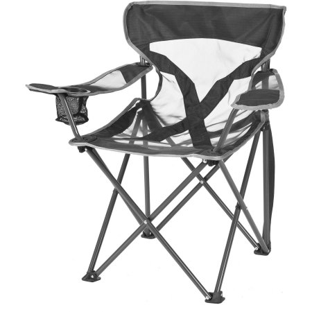 Black Comfortable Camping Chairs