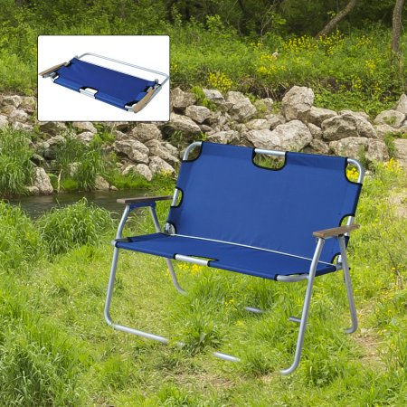 2 Seat Folding Camping Chairs
