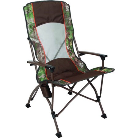 Ozark Trail x Realtree Xtra pro Guide Folding Quad C& Chair  sc 1 st  Chairs For C&ing & Camping Chairs With Foot Rest